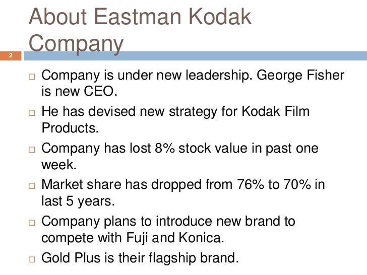 Eastman Kodak Co: Funtime Film - Harvard Business Case Study