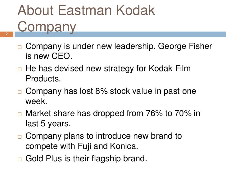 george fisher works to turnaround kodak