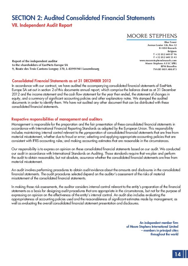 preparation of consolidated statement of financial Consolidated financial statements questions of valuation a discussion prepared for the arbeitskreis der wirtschaftsprufungs-aktiengese11schaften.