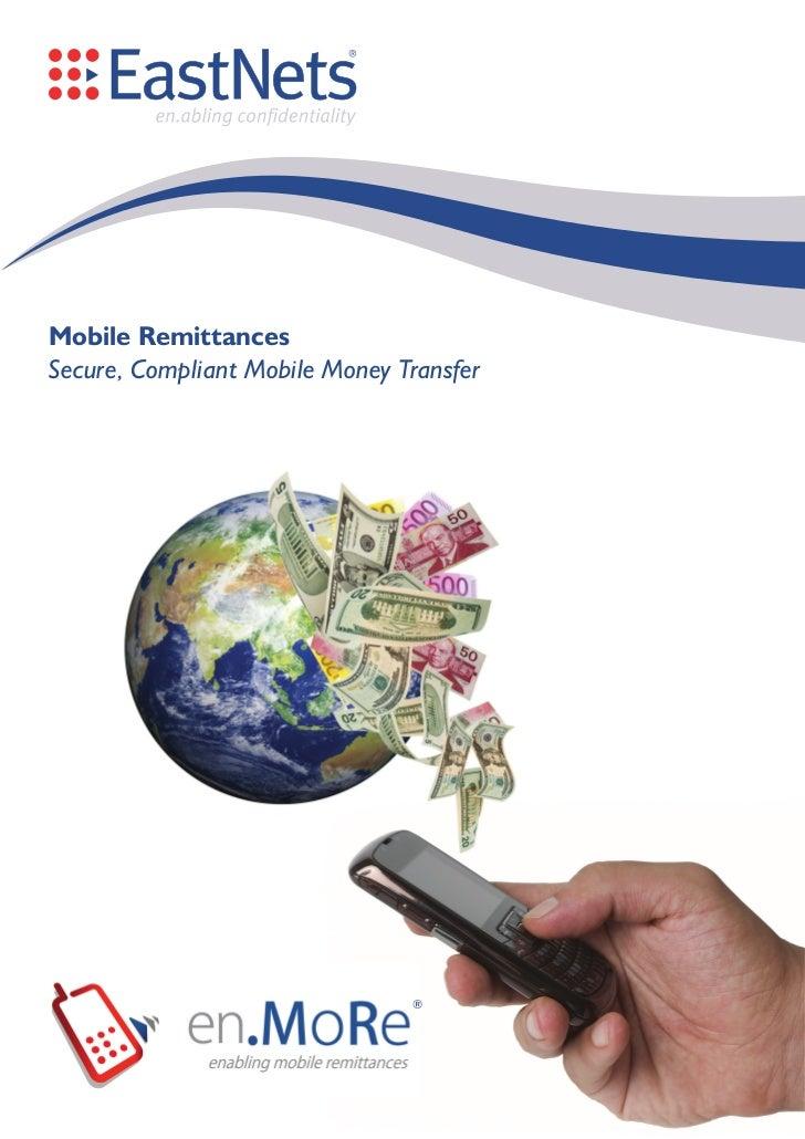 EastNets en.MoRe - Mobile Remittance Solution