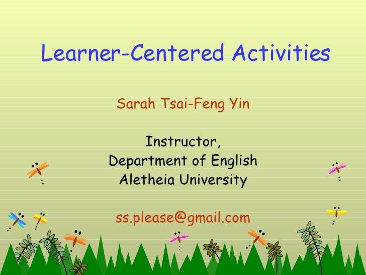 Easy Classroom Activities