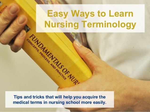 Super Easy Tips to Learn Medical Terminology