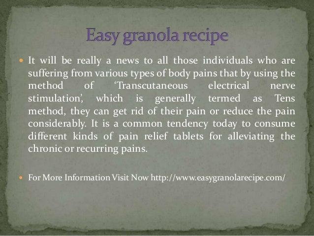 Easygranolarecipe
