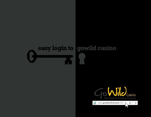 gowild casino login