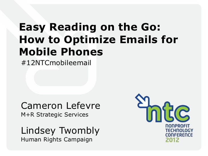 12NTC - Easy Reading on the Go