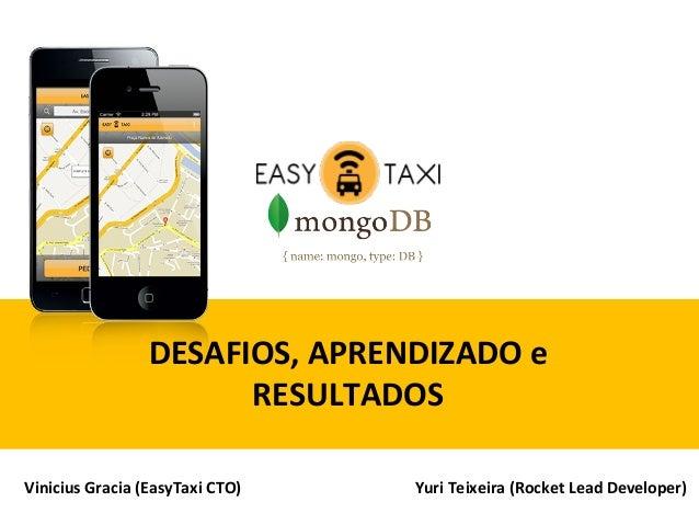 EasyTaxi e MongoDB - Showcase