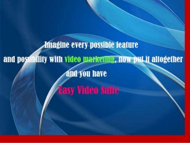 Easy Video SuiteEasy Video Suite, Easy Video Suite, Easy VideoSuite,Video Suite review, Easy Video Suite bonus, EasyVideo ...