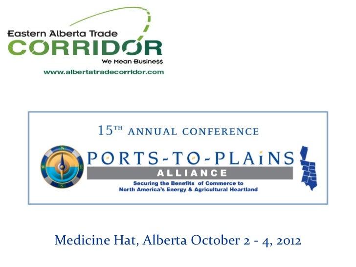 Eastern Alberta Trade Corridor Update