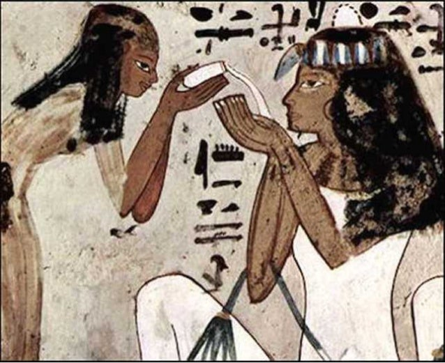 Preparing food, eating and drinking in ancient Egypt