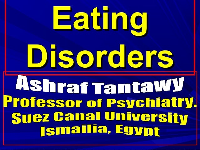 EatingEating DisordersDisorders