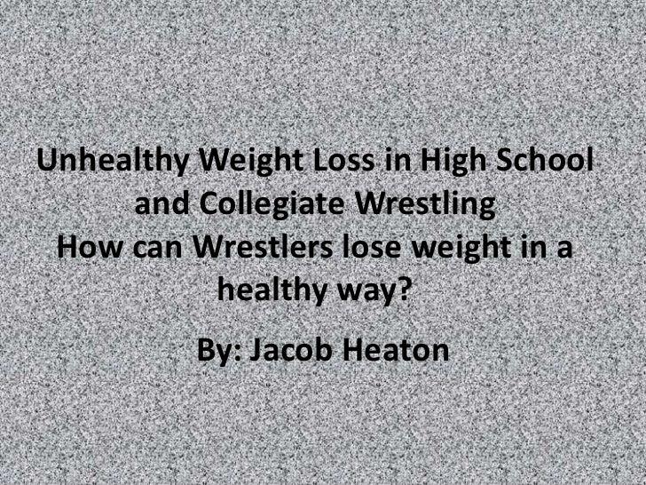 Eating disorders in_wrestling