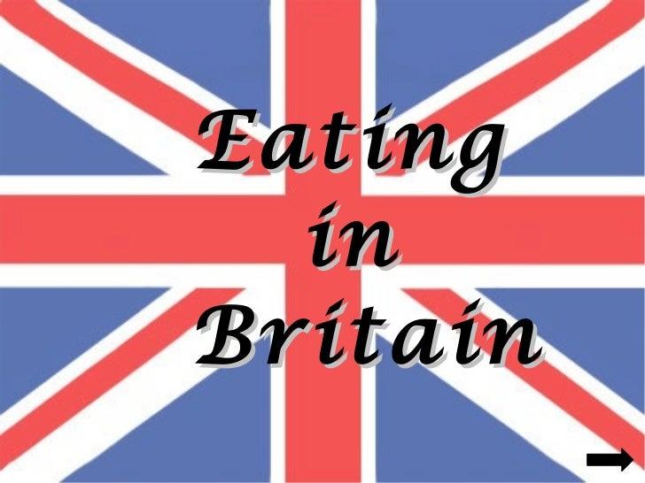 Eating  inBritain