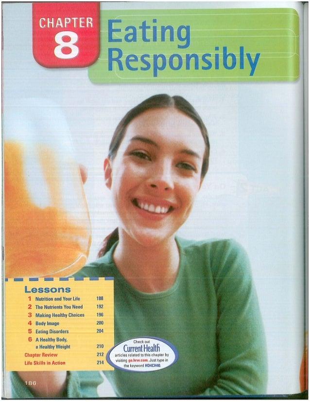 Eating responsibily