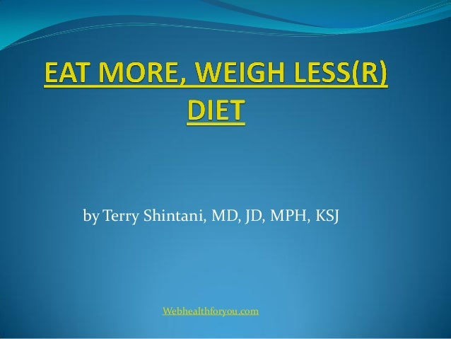 Eat more, weigh less cookbook 18