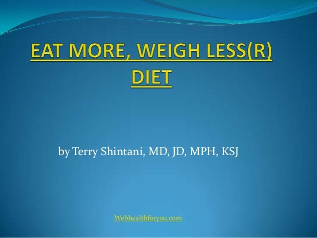 Eat more, weigh less cookbook 2