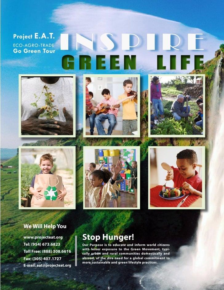 Project E.A.T. ECO-AGRO-TRADE Go Green Tour         INSPIRE                          GREEN                                ...