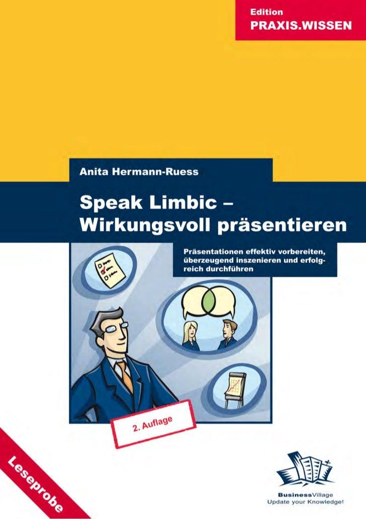 Speak Limbic - Wirkungsvoll präsentieren