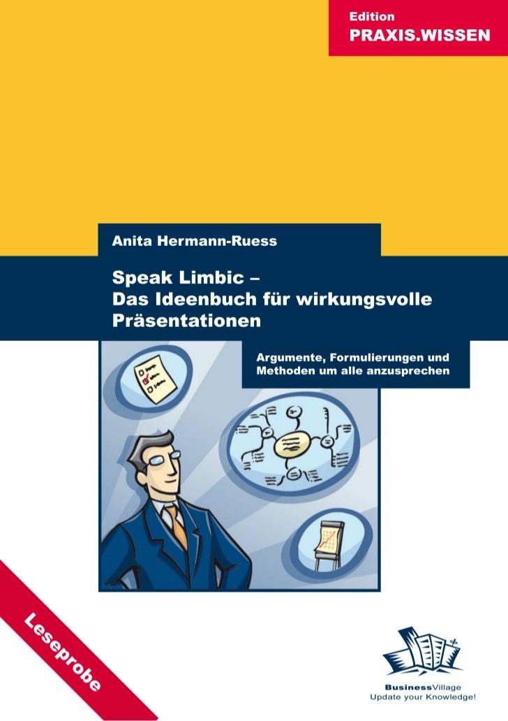 Speak Limbic - Das Ideenbuch für wirkungsvolle Präsentationen