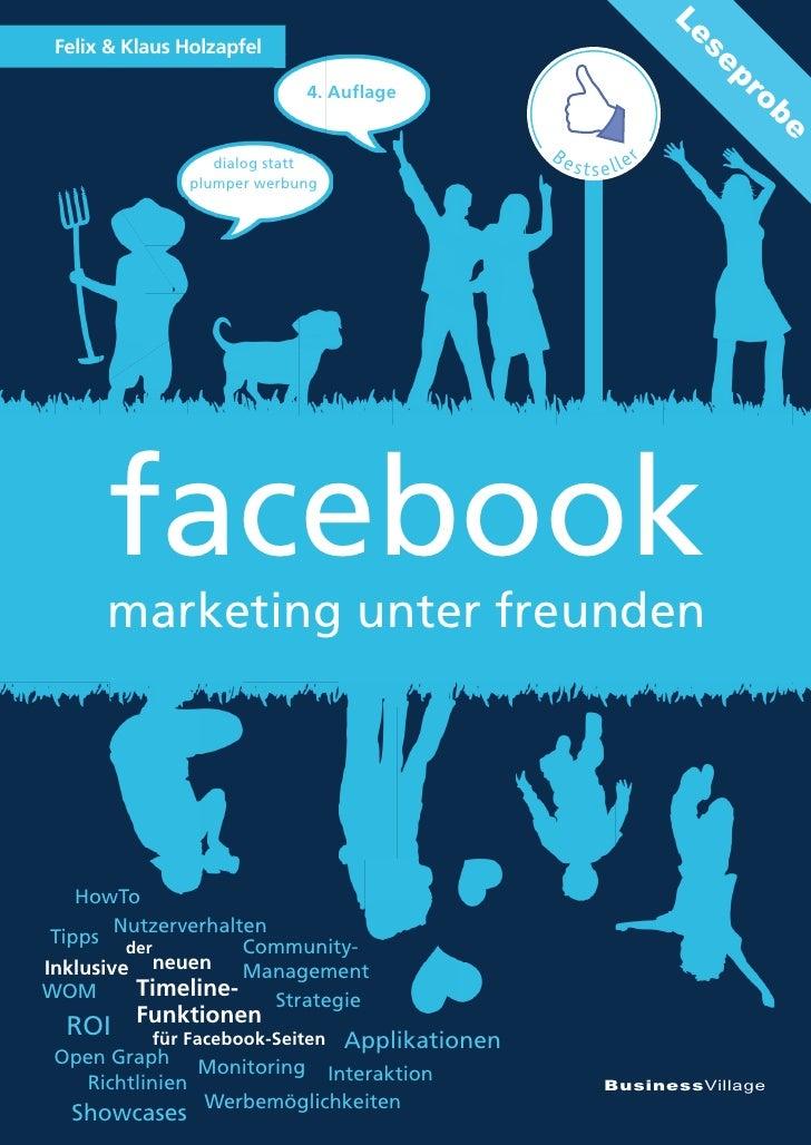 facebook - marketing unter freunden - 4. Auflage