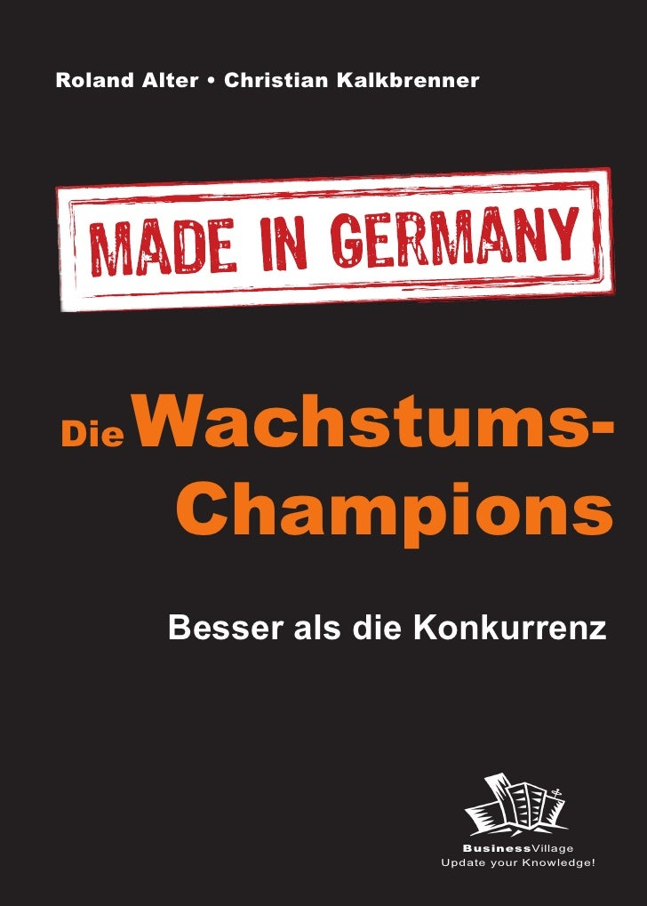 Die Wachstums-Champions - Made in Germany