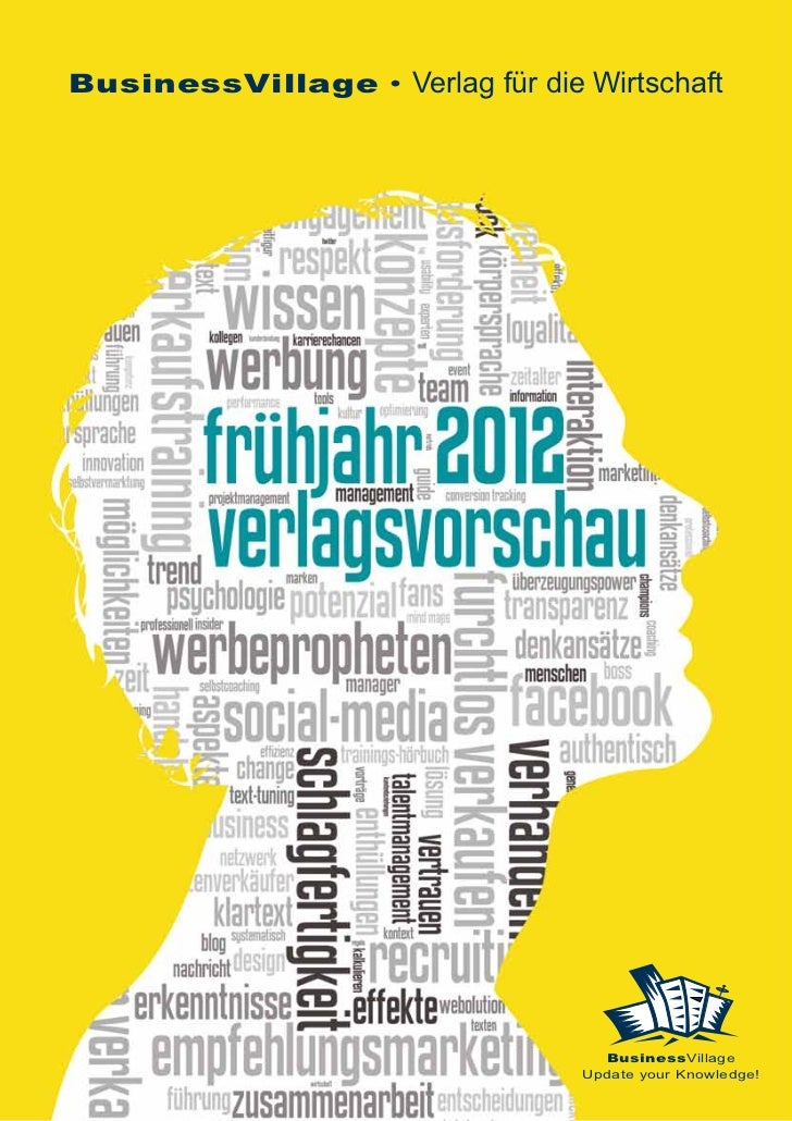 Verlagsprogramm Frühjahr 2012