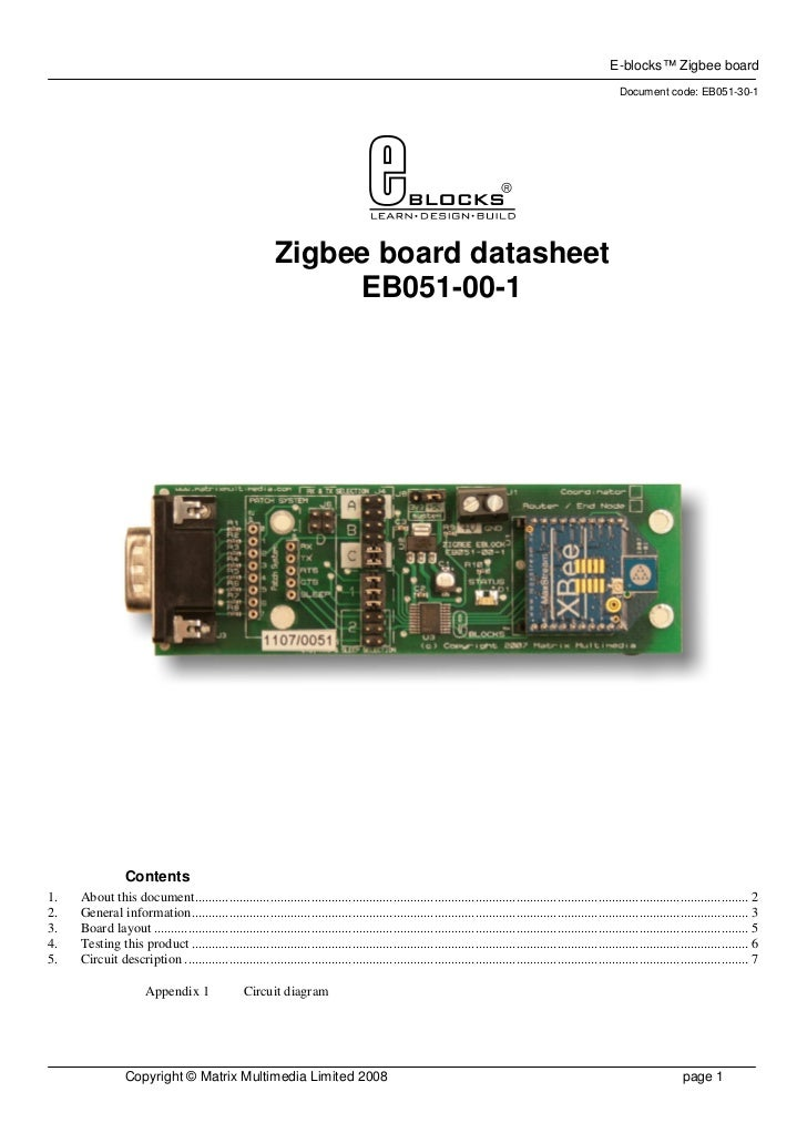 E-blocks™ Zigbee board                                                                                                    ...
