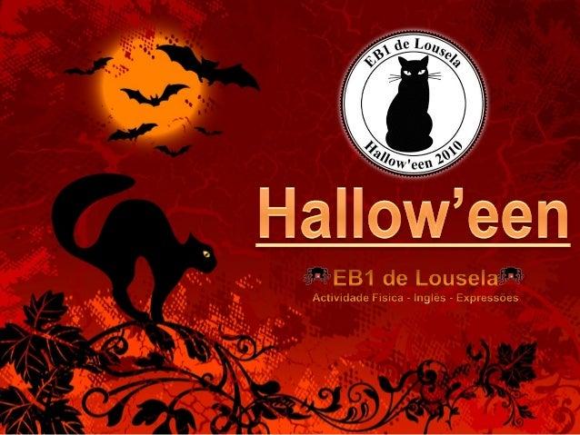 A EB1 de Lousela aderiu à actividade do Hallow'een, promovida pelos professores das Actividades de Enriquecimento Curricul...