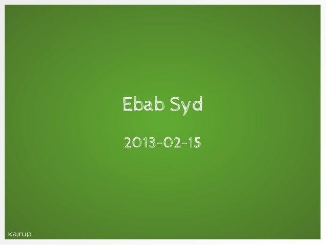 Ebab syd