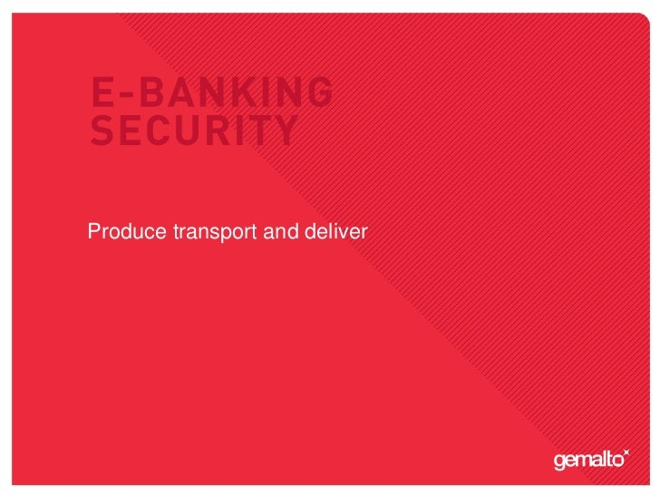 E banking security-09-logistics