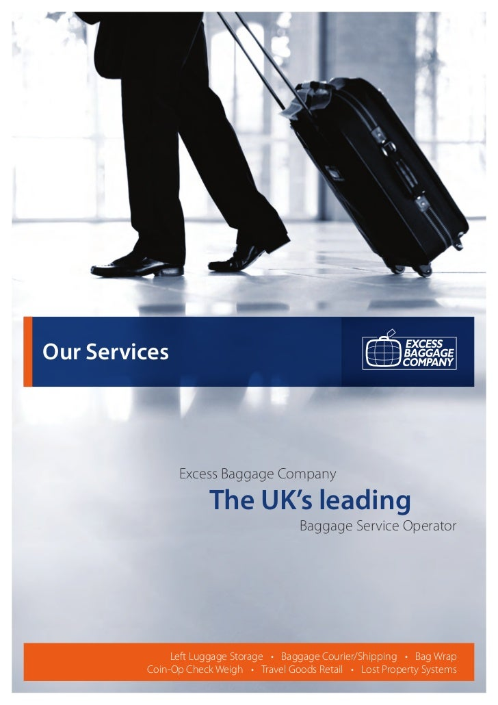 Our Services                Excess Baggage Company                 The UK's leading                                  ...