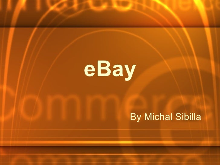 By Michal Sibilla eBay