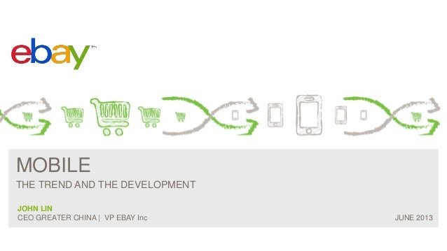 M Commerce trend and development (Ebay)