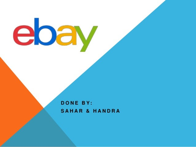 Ebay presentation