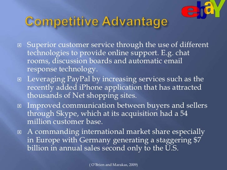 ebay case analysis Ebay is one of the only major internet pure plays to consistently make a profit from its inception what is ebay's business model why has it been so successful.