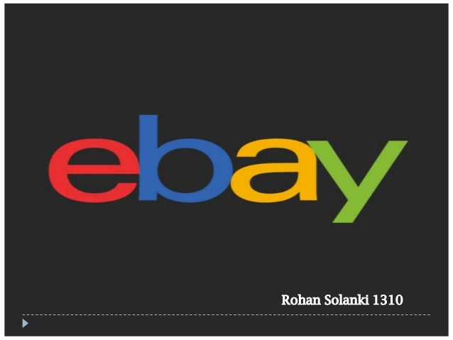 eBay Store   Why an eBay Store?     eBay is an American multinational consumer to consumer selling website. With its wi...