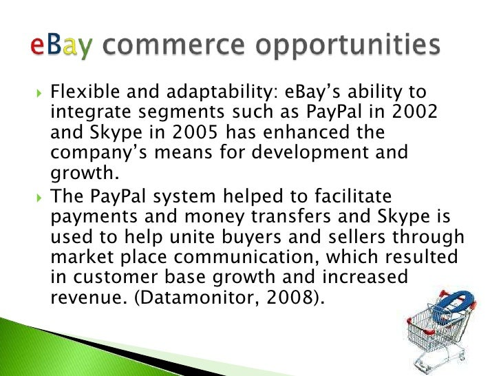 ebay analysis Media coverage about ebay stock has trended somewhat positive recently, according to accern sentiment analysis accern identifies positive and negative news coverage by analyzing more than twenty million blog and news sources in real-time.