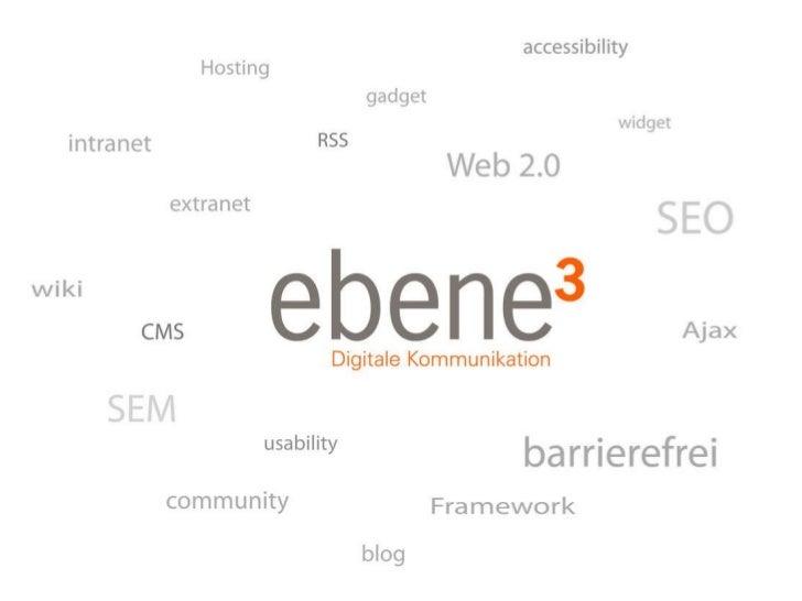 Ebene3 - Online Kommunikation