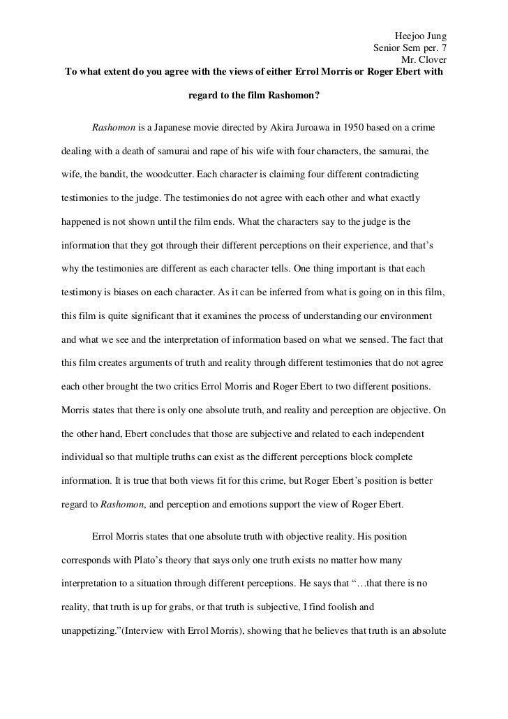 Ebert essay