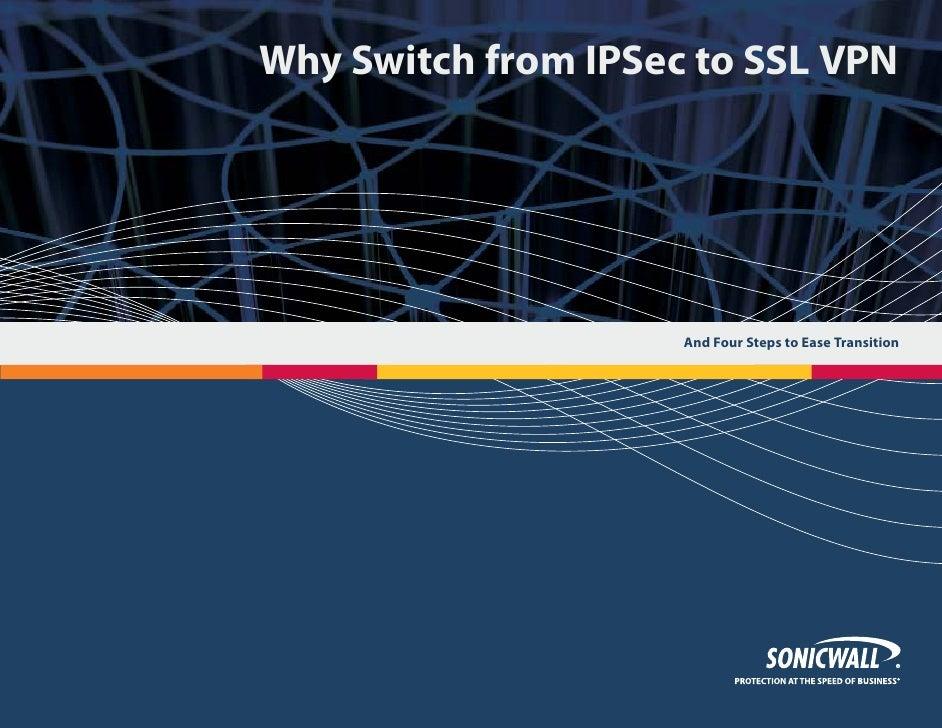 Porque cambiar de IPSec a SSL VPN