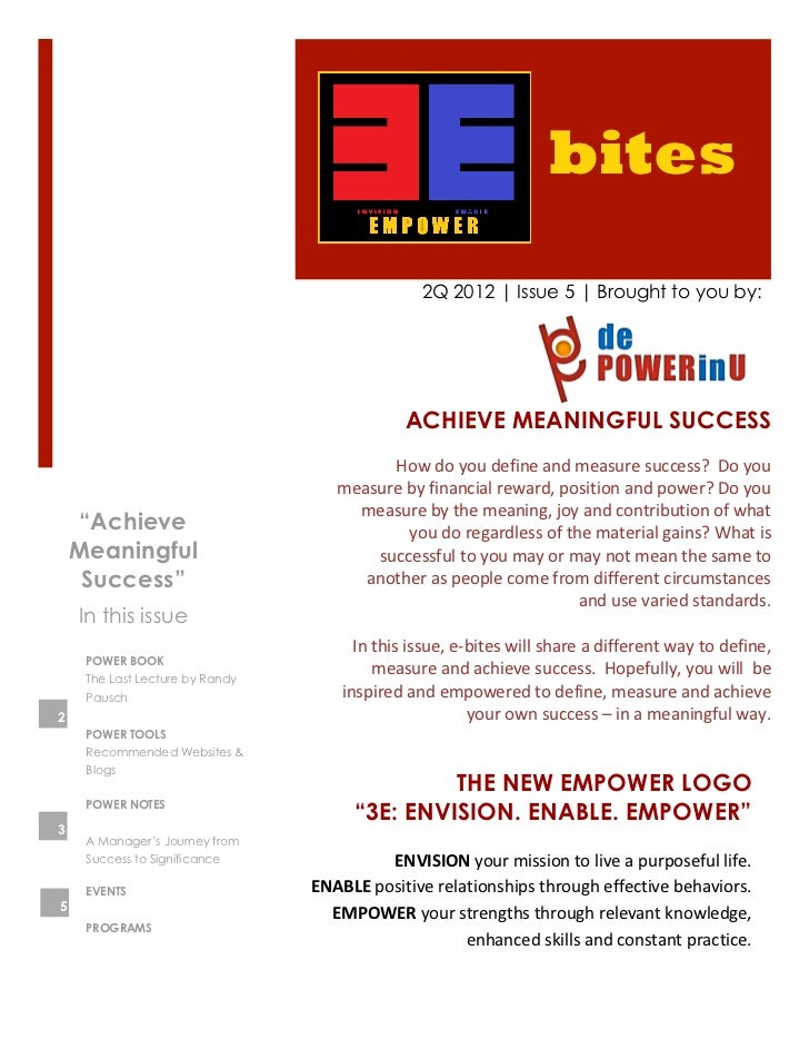 bites                                                         2Q 2012 | Issue 5 | Brought to you by:                      ...