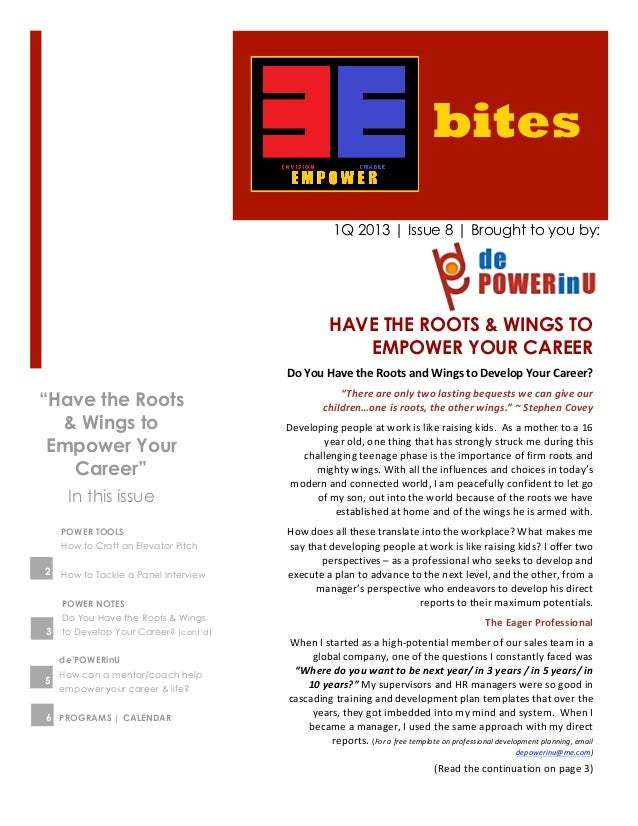 bites                                                         1Q 2013 | Issue 8 | Brought to you by:                      ...