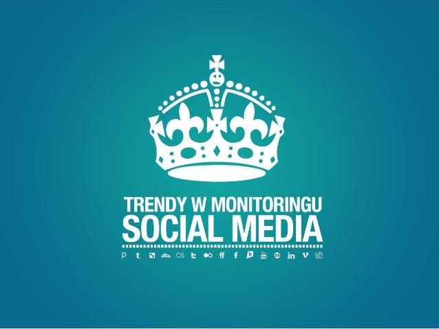 Trendy w monitoringu.