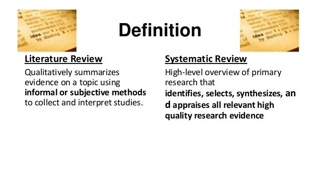 Traditional reviews vs  systematic reviews   Students   Best Evidence