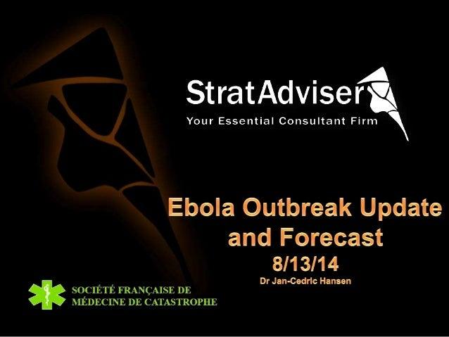 Ebola outbreak update