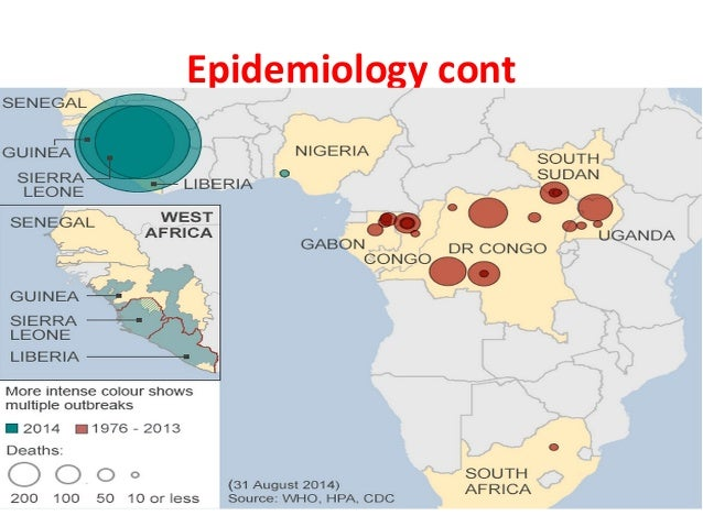 epidemiology of ebola Contents objectives structure and function of viruses viral haemorrhagic fevers epidemiology of ebola laboratory management outbreak investigation and field epidemiology case study.
