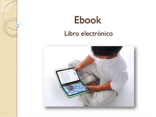 Ebook o libro electrónico