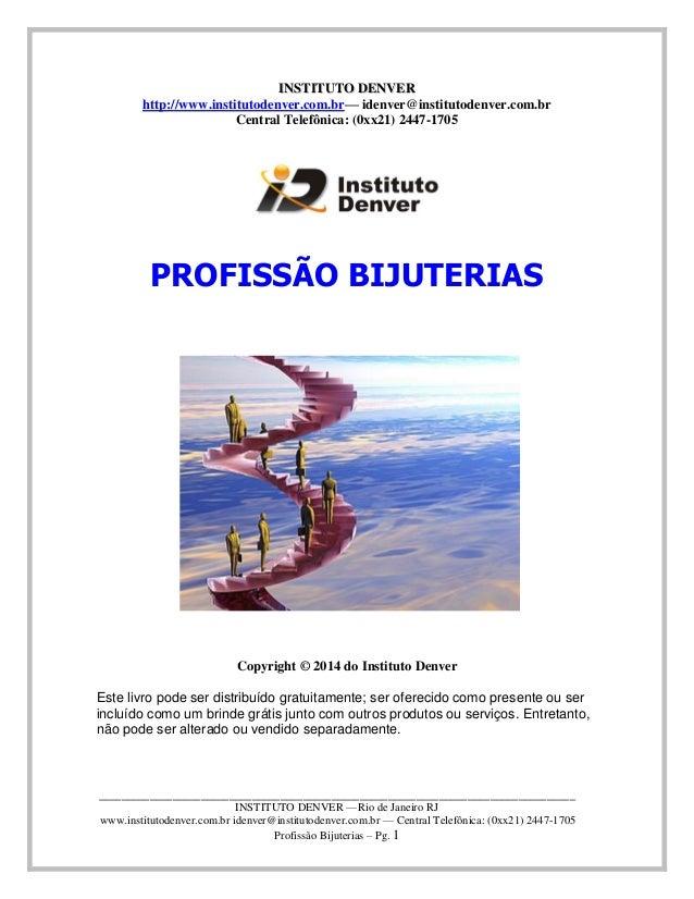 Ebook bijuterias