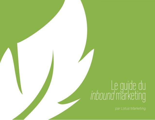 Le guide du Inbound Marketing