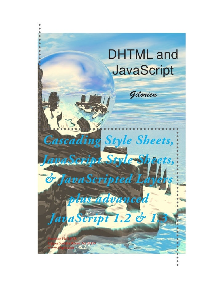 Ebook Dhtml And Javascript