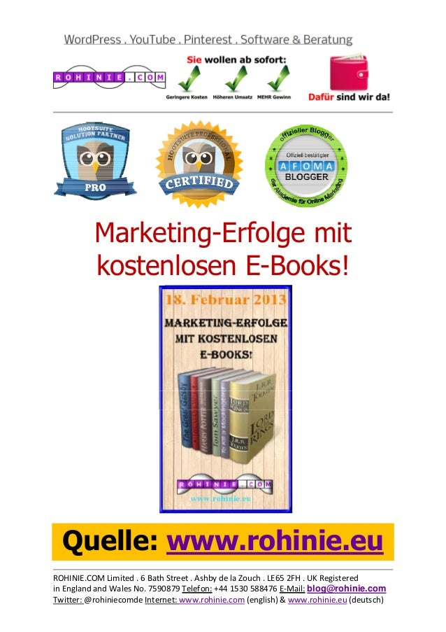 Marketing-Erfolge m...